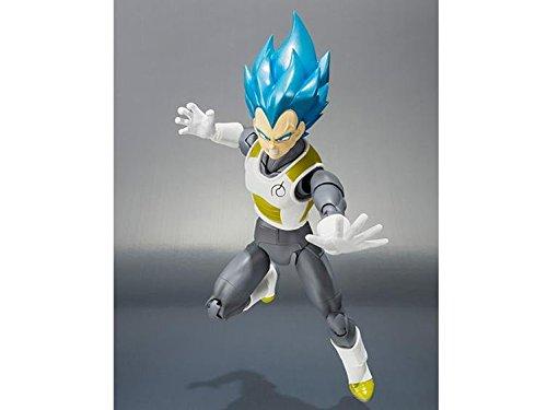 Bandai Tamashii Nations Super Saiyan Dios Super Saiyan Vegeta Figura de acción Dragon Ball Super 3