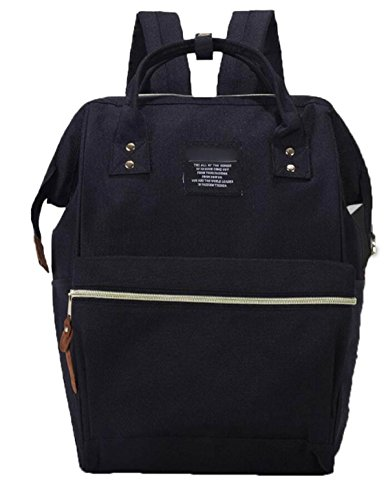 FZHLY Donne Borsa A Tracolla Versione Coreana Di Campus Leisure Travel Bag,Blue Black