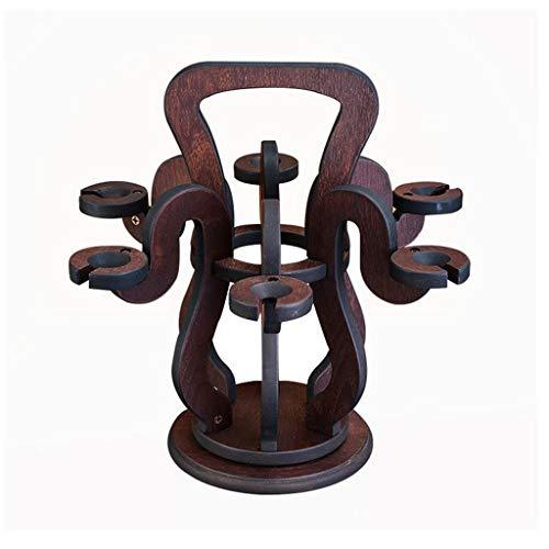 Lyx1,portabottiglie vino espositore per vino in legno bicchieri da vino portabottiglie portabottiglie decorazioni 43 * 43 * 40cm