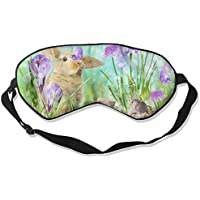 Eye Mask Eyeshade Cute Rabbits Sleep Mask Blindfold Eyepatch Adjustable Head Strap preisvergleich bei billige-tabletten.eu