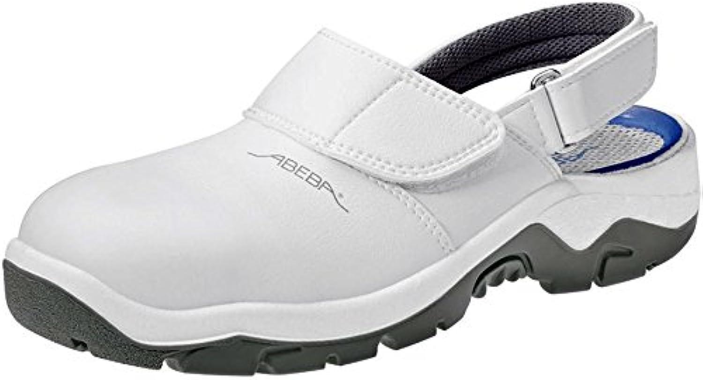 Abeba 2120 – 36 Anatom – Zapatos de seguridad Zapata, Blanco, 2120-52