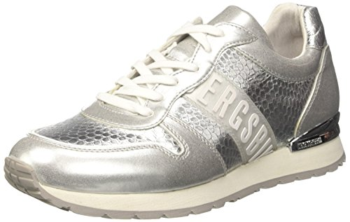 Bikkembergs Kate 852, Sneaker a Collo Basso Donna Argento