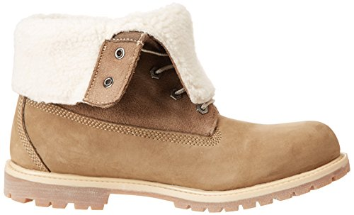 Timberland, Auth Teddy Fleece Wp Wheat, Stivali, Donna Taupe