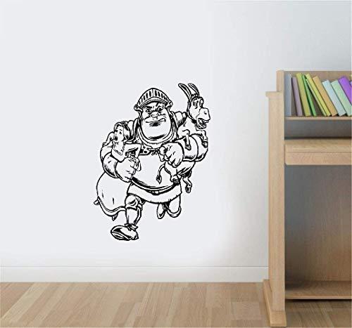 Wandtattoo Kinderzimmer Wandtattoo Wohnzimmer Shrek Prinzessin Fiona Kids Cartoon Sticker Interior Home Kinderzimmer Design