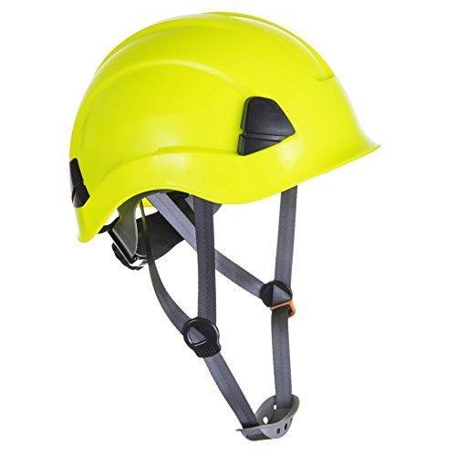Kletterhelm / Casco in particolare per Lavoro di altezza CE certificato - giallo