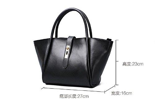 Sacs à main en cuir de noir sacs à main de luxe en vrac sacs , black Black