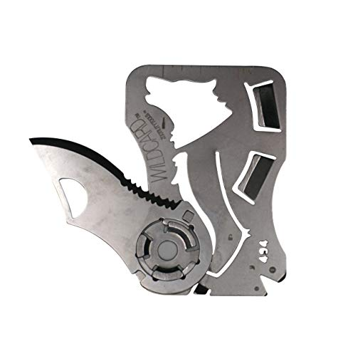 Überlebens-Outdoor-Multifunktions-EDC-Werkzeug , Kreditkarten-Größe, Taschen-Werkzeug