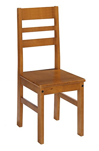 Dogar kynus–set di 2sedie con seduta in legno, 98x 42x 45cm, legno, colore: ciliegio