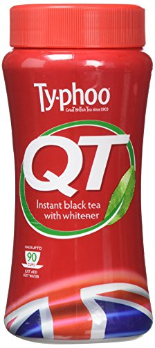 Typhoo QT Instant Black Tea with Whitener 225 g (Pack of 6)