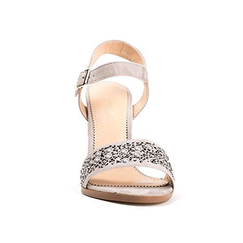 Ideal Shoes ,  Sandali donna Grigio
