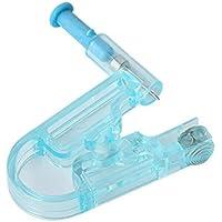 Preisvergleich für 3Blau Einweg Kunststoff Sicherheit Ohr Piercing Gun Pierce Werkzeug Beauty Kit mit Stahl Ohr Ohrstecker Asepsis...