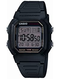 Casio Collection Herrenuhr Digital mit Resinarmband – W-800HG-9AVES