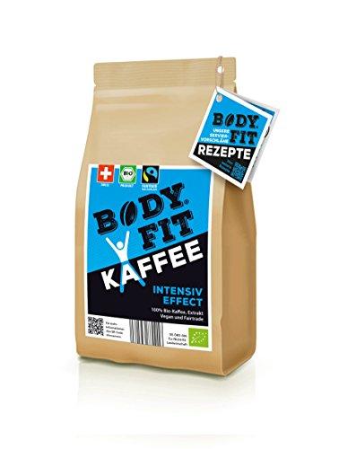 Bodyfit Intensiv grüner Kaffee Extrakt: Aus 100% BIO, Vegan & Fairtrade Kaffeebohnen