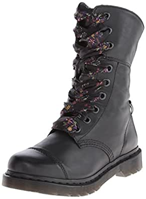 dr martens aimilita darkened mirage braun damen boot. Black Bedroom Furniture Sets. Home Design Ideas