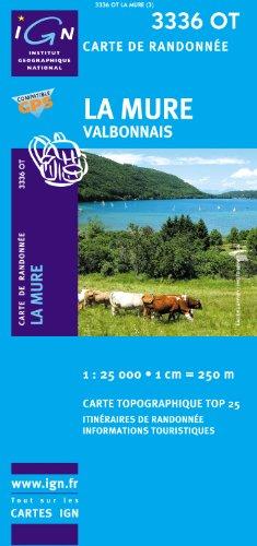 La Mure /  Valbonnais gps par IGN Institut Géographique National