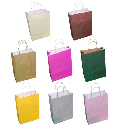 20-paper-carrier-party-gift-bags-twisted-handles-180-x-80-x-220mm-various-colours-available-fuchsia-