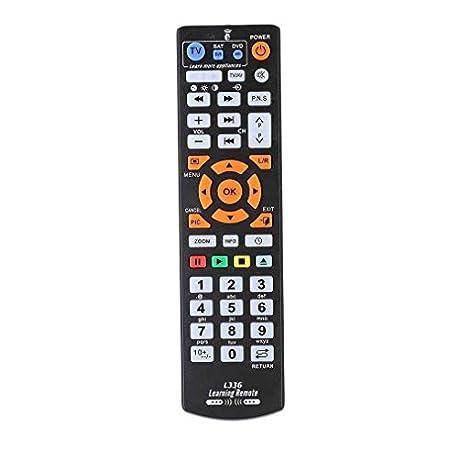 Bodbii Regulador teledirigido L336 Copia Inteligente con funci n de Aprendizaje para el Aprendizaje de TV CBL DVD Sat