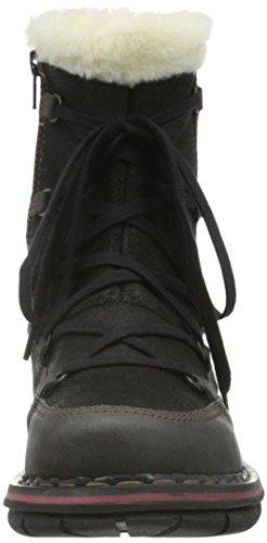 Art Assen Fur, Bottes Classiques femme Noir (Black)