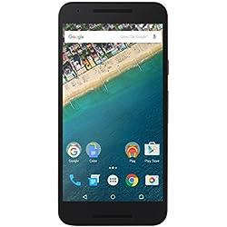 LG - Nexus 5X - Smartphone Débloqué 4G (Ecran 5,2 Pouces - 12 MP - 16 Go - Simple Nano-SIM - Android) - Noir