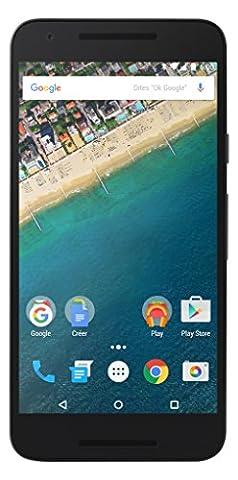 LG - Nexus 5X - Smartphone Débloqué 4G (Ecran 5,2 Pouces - 12 MP - 16 Go - Simple Nano-SIM - Android) - Blanc