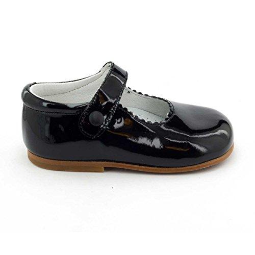 Boni Princesse - Chaussure fille premiers pas Noir