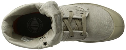 Palladium Pallabrouse Baggy, Sneakers Basses Homme Vert (Goat/Silver Birch)