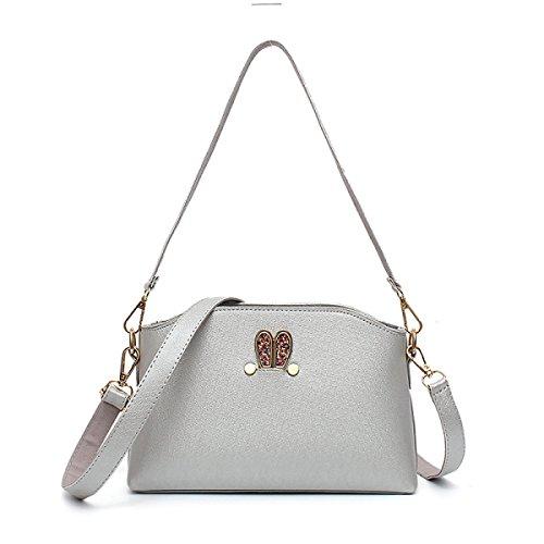 Female Messenger Bag Nette Kleine Frische Schalentiere Tasche Umhängetasche Paket Kleines Paket Silver