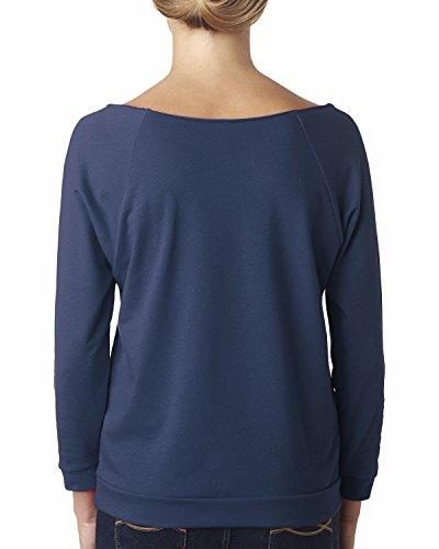 Next Level Damen T-Shirt Blau - indigo