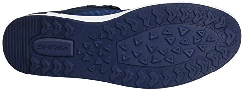 Viking Unisex-Erwachsene Frogner Mid Outdoor Fitnessschuhe Blau (Navy/White)