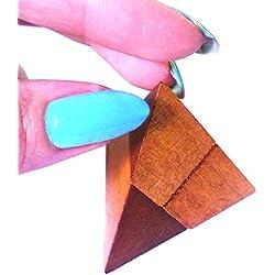 As De Trebol - Puzzle madera ingenio 8x5 cm modelo 3