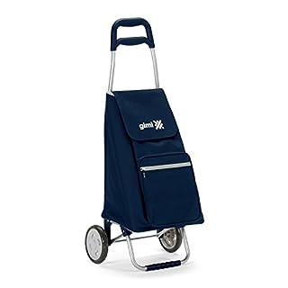 Gimi Argo Einkaufstrolley, blau