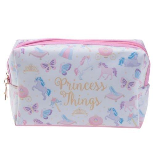 'Unicornio' Princess cosas Maquillaje caja de lápiz del bolso cosmético Toilette Wash