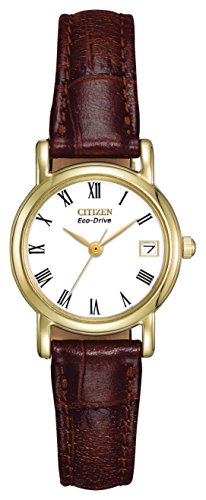 citizen-ladies-eco-drive-watch-with-white-dail-analogue-display-and-brown-leather-strap-ew1272-01b