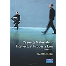 Cases and Materials in Intellectual Property Law