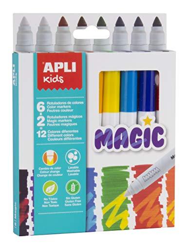 APLI Kids 16808 - Rotuladores Magic 8 u.