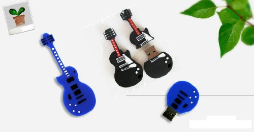 16GB Novelty Cool Guitar Style USB Flash Pen Drive Memory Stick Gift UK [PC]