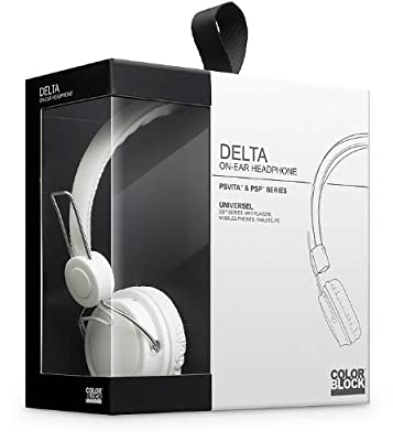 Delta on-ear headphone - White (Playstation Vita)
