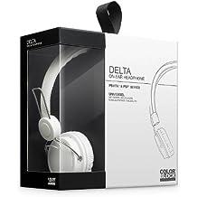 BigBen Delta - Auriculares de diadema para PlayStation Vita, color blanco