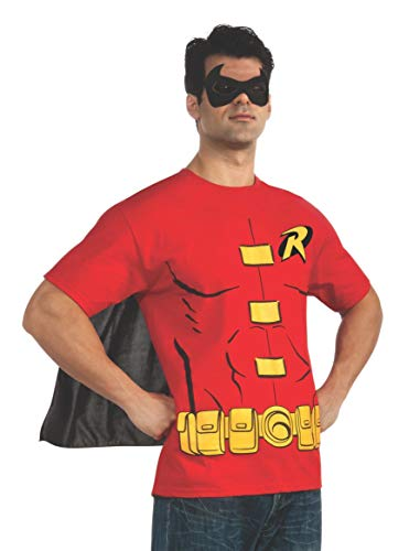 Rubie' s ufficiale Robin t-shirt set, adulto costume – large