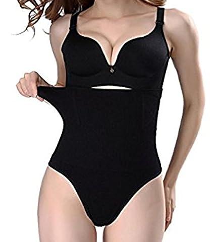 Miss Moly Damen Sportunterhose, schwarz (Power Body Shaper)