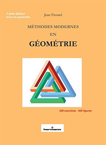 Méthodes modernes en géométrie