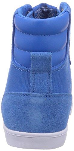 hummel SL STADIL CANVAS HI Unisex-Erwachsene Hohe Sneakers Blau (Brilliant Blue 7359)