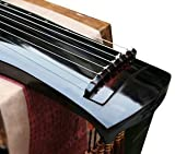 Niveau débutant bois de paulownia Guqin cithare chinois 7Cordes Instrument Fu XI style
