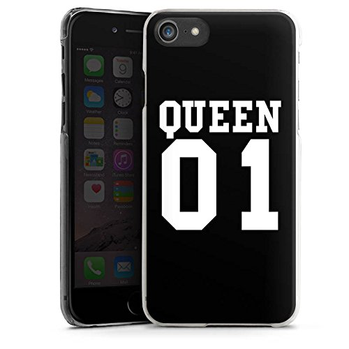 Apple iPhone 6s Hülle Case Handyhülle Queen 01 Königin Pärchen Hard Case transparent