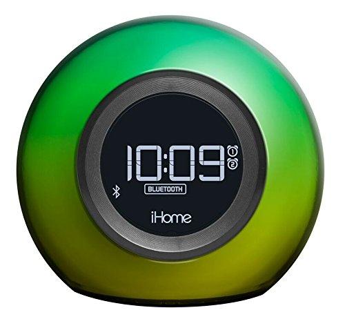 iHome IBT29 Farbwechsel, Bluetooth, FM-Radiowecker mit Doppelalarm und USB-Ladeanschluss - Ihome-radiowecker