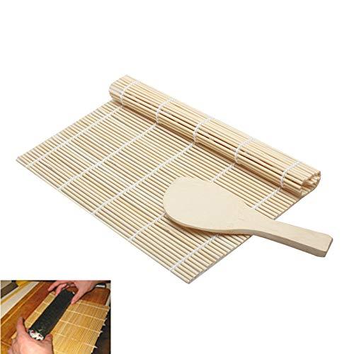 Starmood DIY Sushi Maker Rolling Roller Bambus Matte Reis Paddel Kochen Werkzeuge Küche Zubehör