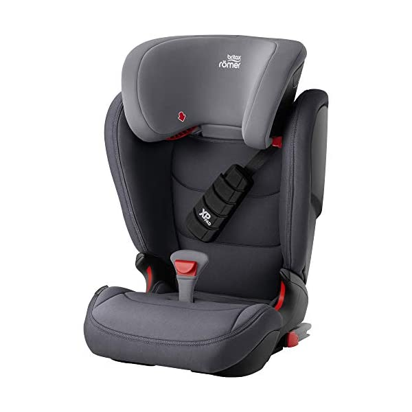 Britax Römer car seat 15-36 kg, KIDFIX Z-LINE Isofix Group 2/3, Storm Grey Britax Römer Made in germany Outstanding security concept - xp-pad and secureguard Ideal inside dimensions and seat - for extra comfort and excellent ergonomics 1