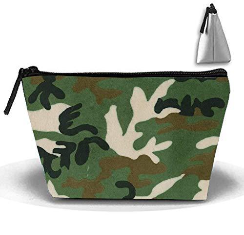 b889f4ecaaa1 Green Camo Travel Toiletry Bag/Shaving Grooming Kit/Makeup Bag Organizer