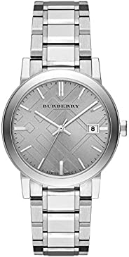 Burberry Women's Dial Stainless Steel Band Watch - BU
