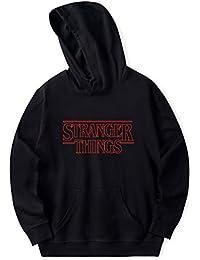 6dd4a1b411867 SERAPHY 2018 Unisexe Sweat-Shirts à Capuche Trendy Faces Nouvelle Saison  Stranger Things Hooded Hommes